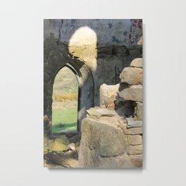 Tower Ruins Metal Print