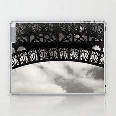 Black Lace of Eiffel Tower Laptop & iPad Skin