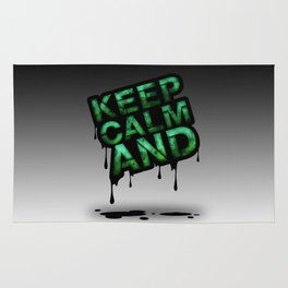 Keep Calm And.... Rug