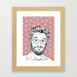 Seth Gerahmter Kunstdruck