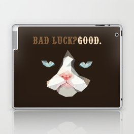 Grumpy Bad Luck Cat Laptop & iPad Skin