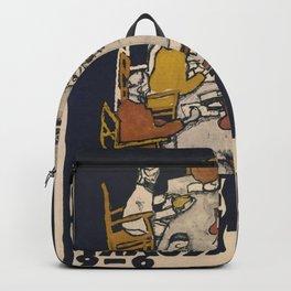 "Egon Schiele ""Secession 49. Exhibition"" Backpack"