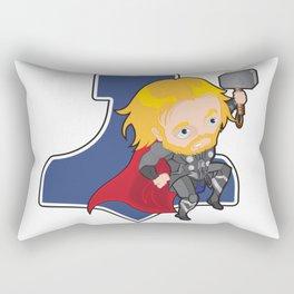 Thunder Warrior Rectangular Pillow