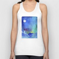 northern lights Tank Tops featuring Northern Lights by Ricardo Moody
