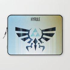 The Legend of Zelda - Hyrule Rising Poster Laptop Sleeve