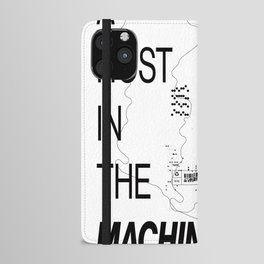 Ghost in the Machine iPhone Wallet Case