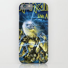iron maiden album 2021 dede13 iPhone Case
