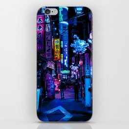 Tokyo's Blade Runner Vibes iPhone Skin