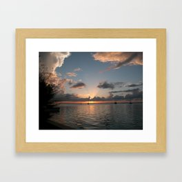 Bimini Bay Framed Art Print
