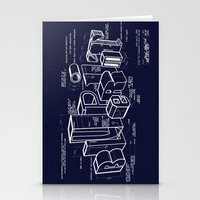 blueprint Stationery Cards featuring Blueprint by Matthew McKenna