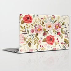 Floral Theme Laptop & iPad Skin