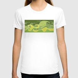 Waves V green colors V Duffle Bags T-shirt