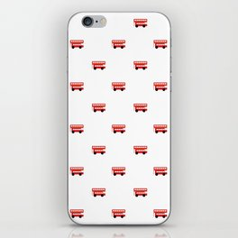 London Red Bus iPhone Skin