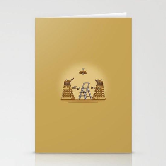 Dalek DIY Stationery Cards