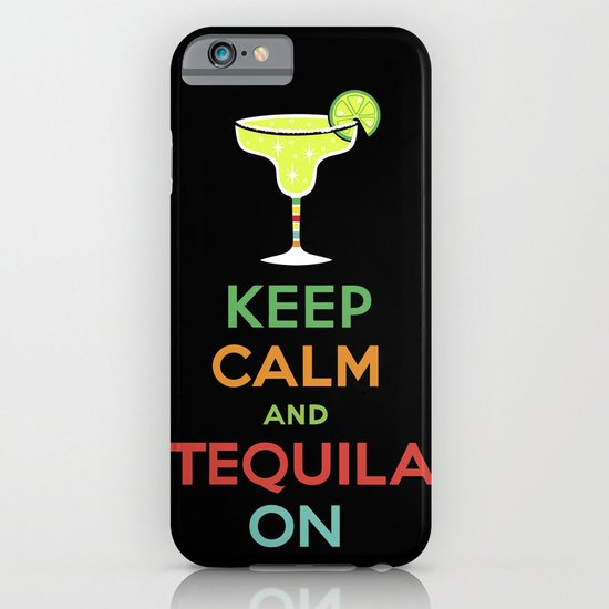 Keep Calm Tequila - black iPhone & iPod Case