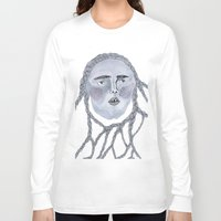 tangled Long Sleeve T-shirts featuring Tangled by Hedda Hultman