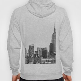 The New York Cityscape City (Black and White) Hoody