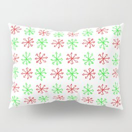 Arrows 1 - green and red Pillow Sham