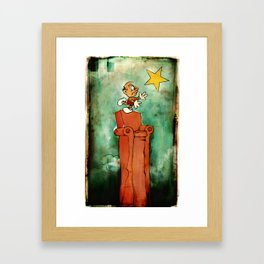 The Natural Philosopher  Framed Art Print