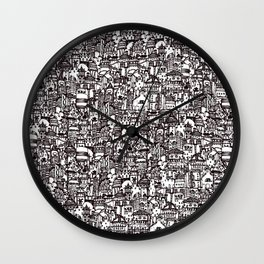 The Poet's Tower Wall Clock