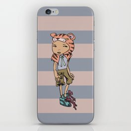 Tiger Boy iPhone Skin
