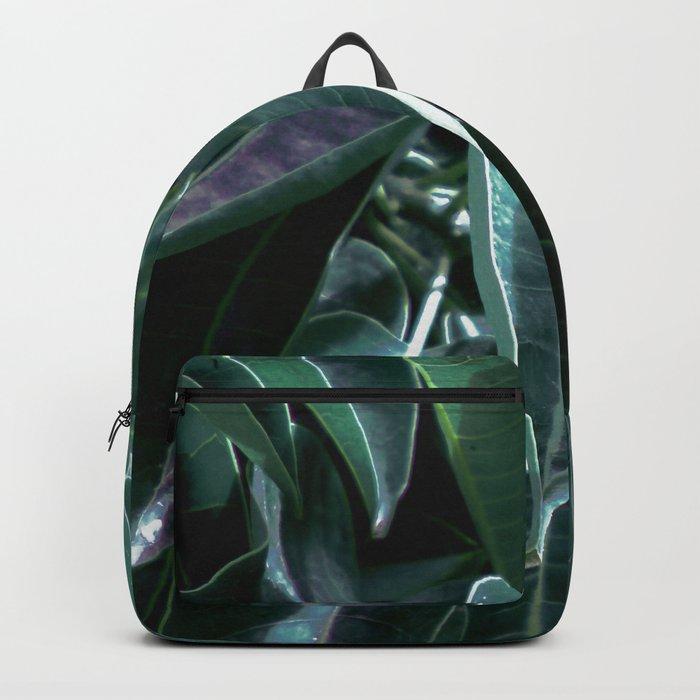 Botanical night dream Backpack