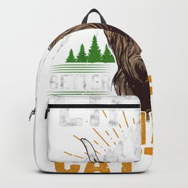 Life is Better with Highland Cattle Cow Cattle Farmer Gift Backpack