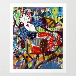 Indie Angel Art Print