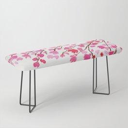 Rain of Cherry Blossom Bench