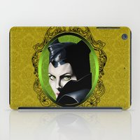 maleficent iPad Cases featuring Maleficent by Tish