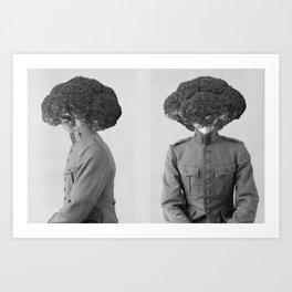 Soldier Broccoli. 1901. Art Print