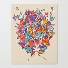 Birdy Canvas Print