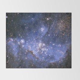 Magellan Nebula Throw Blanket