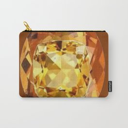 HONEY YELLOW  CITRINES SEPTEMBER  BIRTHSTONES ART Carry-All Pouch