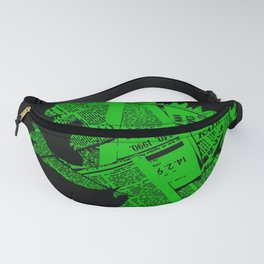 Japanese Monster - II Fanny Pack