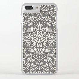 Mandala 2 Clear iPhone Case