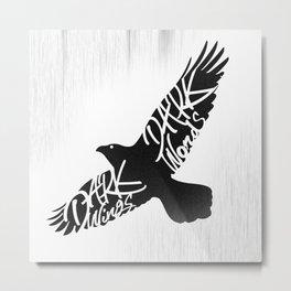 Dark Wings Metal Print