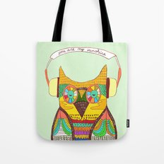 The Owl rustic song Tote Bag