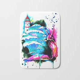 lighthouse keeper Bath Mat