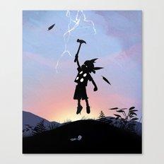 Thor Kid Canvas Print