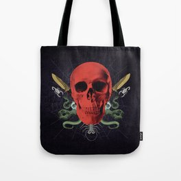 Faces Of Death Tote Bag