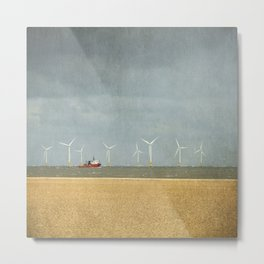 Scroby Sands Wind Farm, Great Yarmouth Metal Print