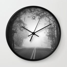 The Path Untraveled Wall Clock
