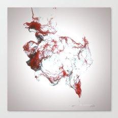 Ink dispersion Canvas Print