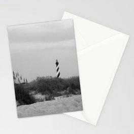 Hatteras Black & White Stationery Cards