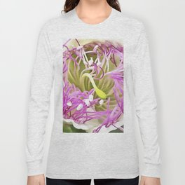 Caper Flower Blossom Long Sleeve T-shirt