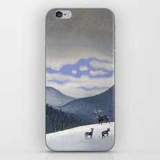 Snow Clearing iPhone & iPod Skin
