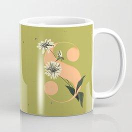 S for Shasta Daisy Coffee Mug