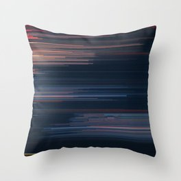 Glitched v.4 Throw Pillow