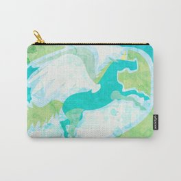 Winged Unicorn Carry-All Pouch